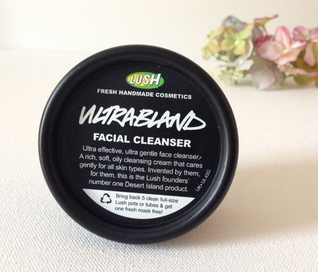 lush ultrabland cleanser