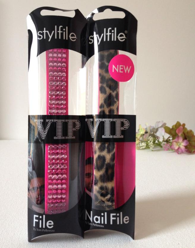 VIP curved nail files