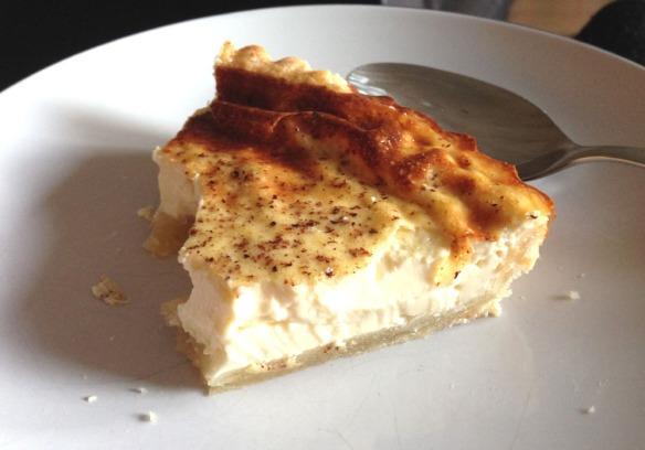 recipe for egg custart tart