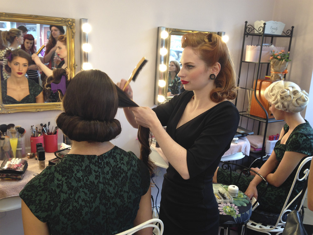 Vintage makeover english rose from manchester 39 s blog for Academy beauty salon
