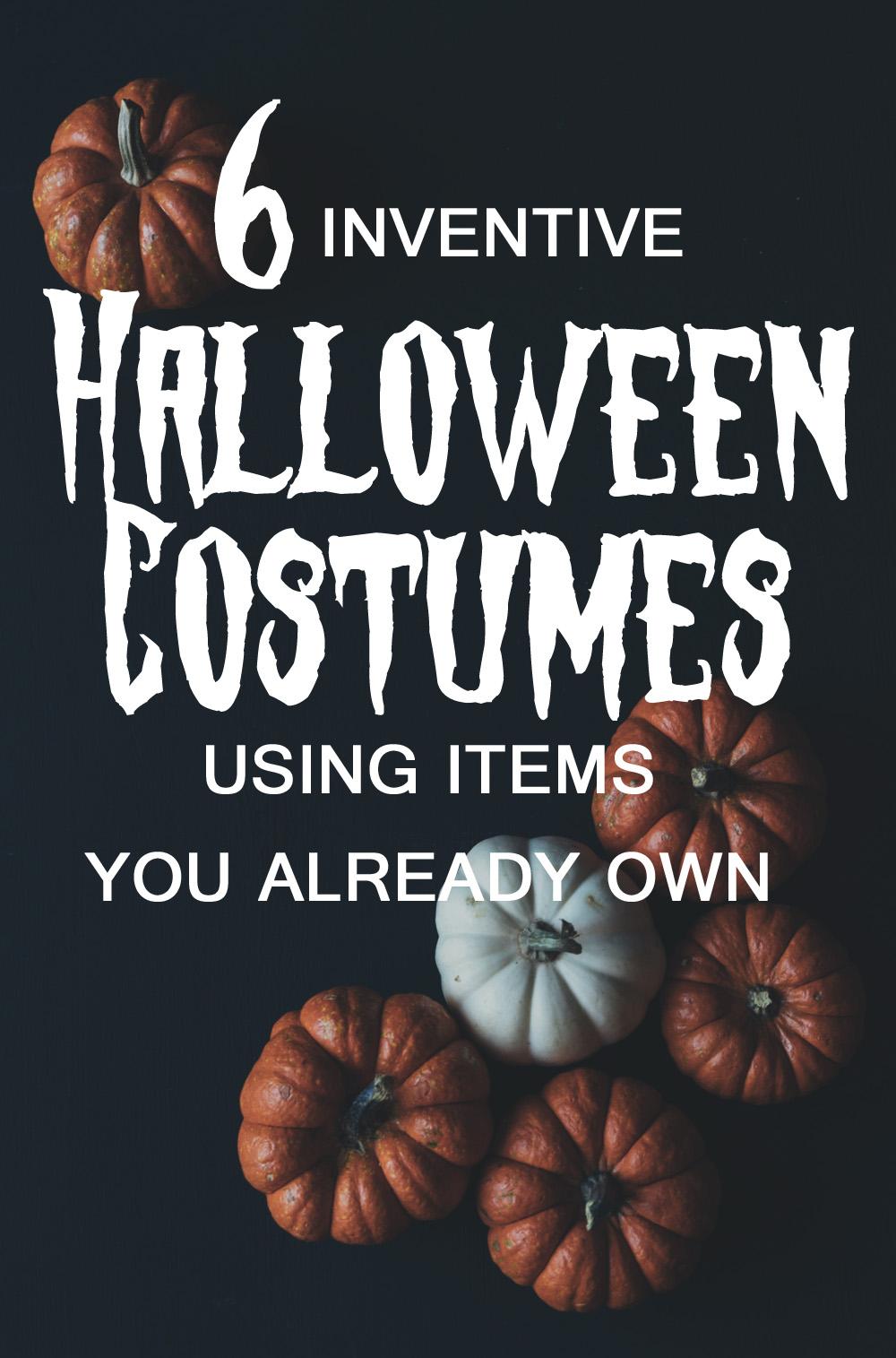 Inventive Halloween Costumes