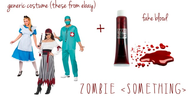 halloween zombie costume diy