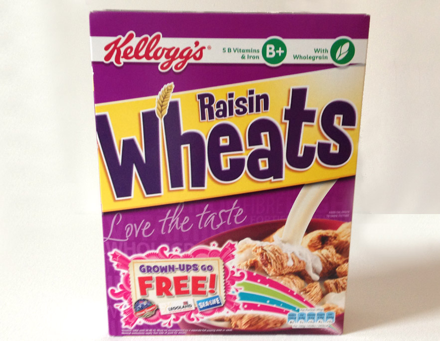 raisin wheats