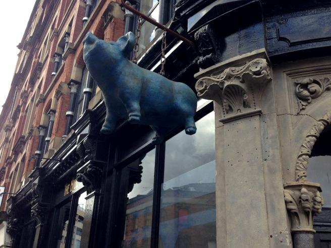 Blue pig manchester