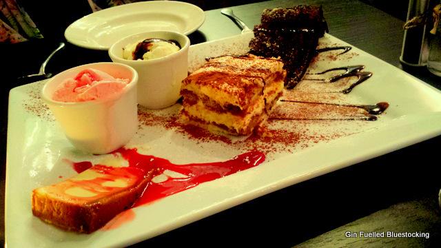Avalanche manchester dessert platter