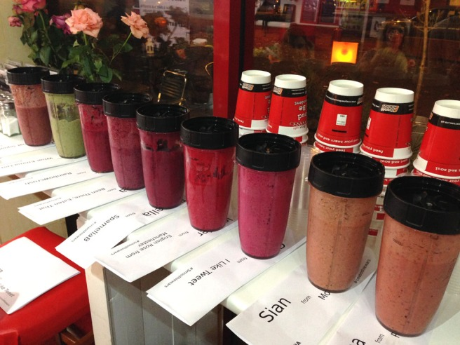 smoothie wars - the smoothies