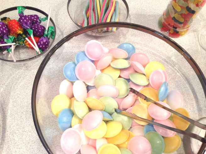 pastel pick n mix sweeties