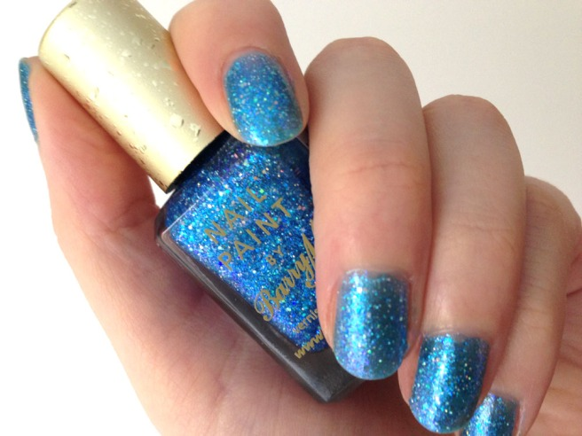 barry m blue glitterati