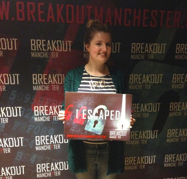Breakout Manchester I escaped