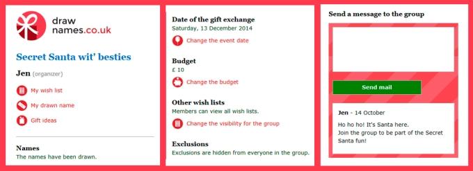 christmas gift exchange name generator christmaswalls co