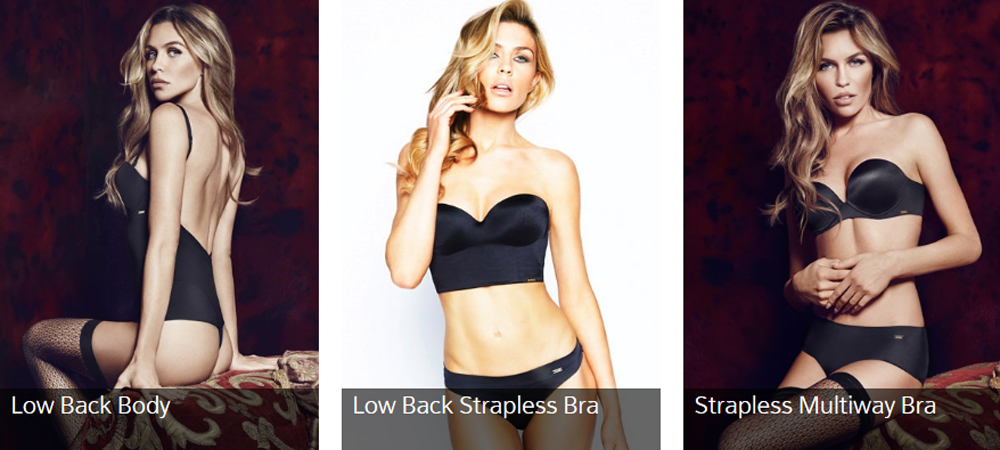 Halter Bra Low Back Low Back Strapless Bra i