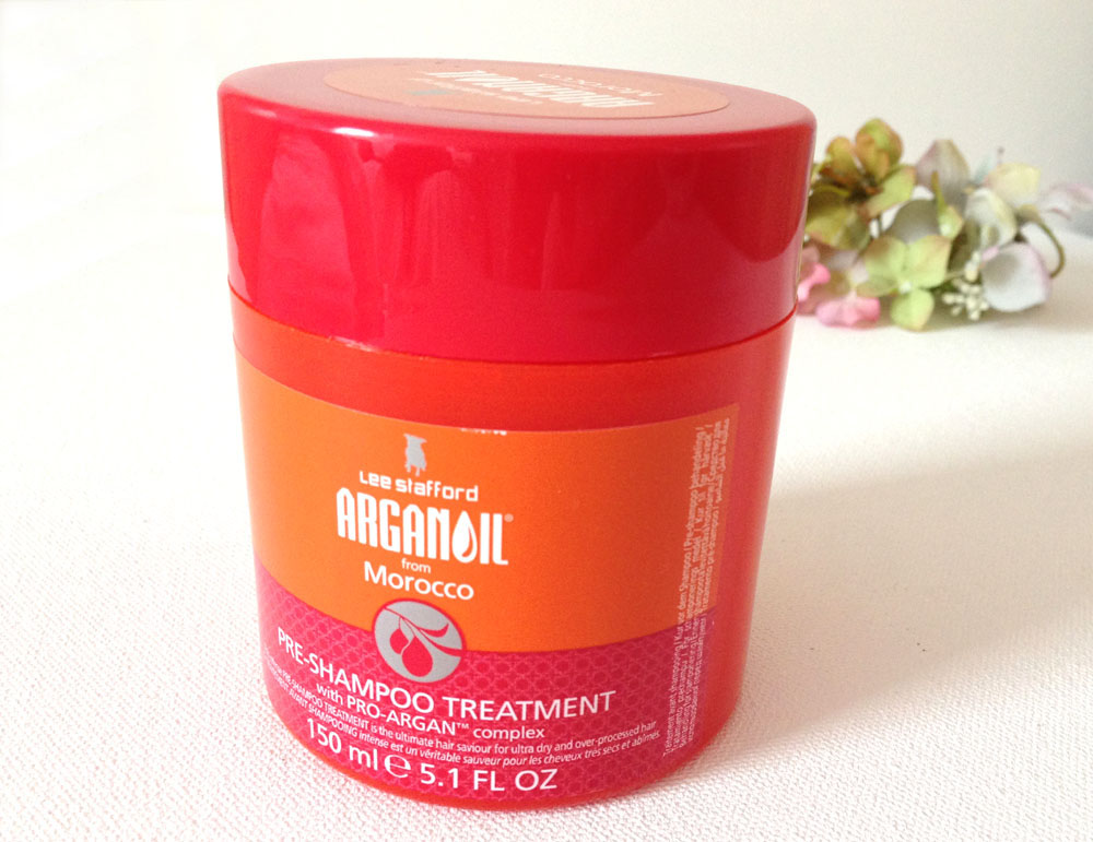 Lee stafford argan oil treatment