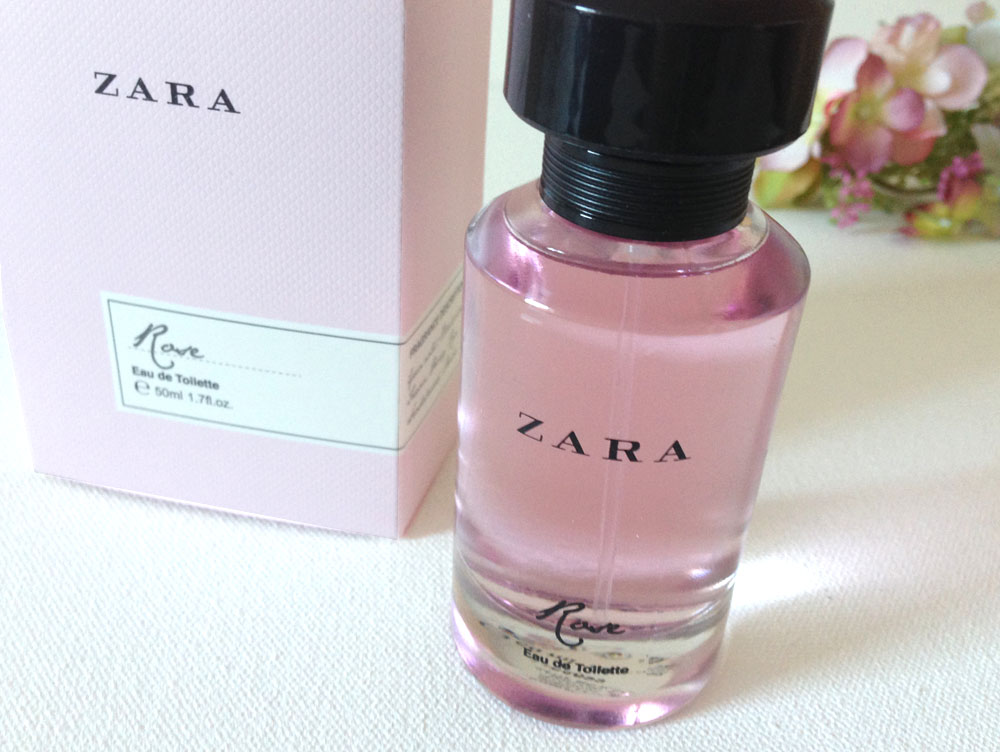 Cruelty free perfume from Zara