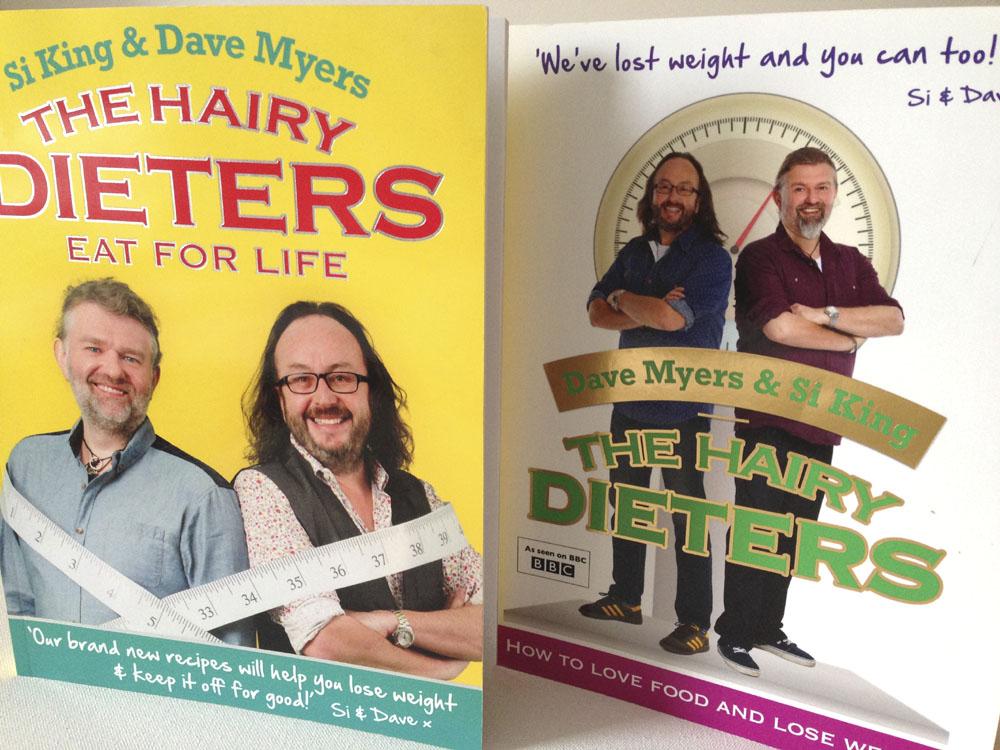 Hairy Dieters books