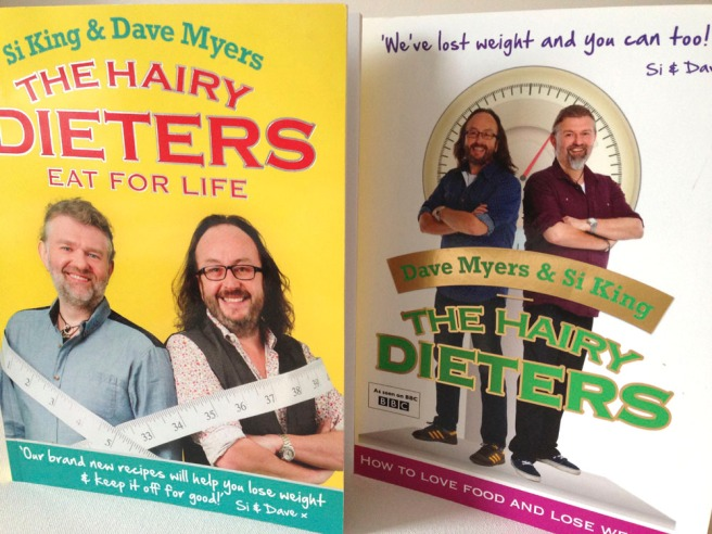 Hairy Dieters books