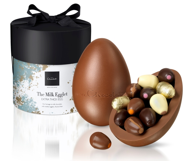 Hotel Chocolat extra thick easter egg review