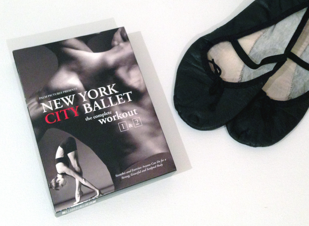 Workout DVD ballet