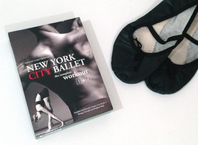 Workout DVD ballet