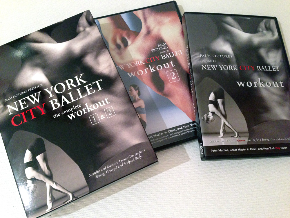 New York City Ballet workout dvd