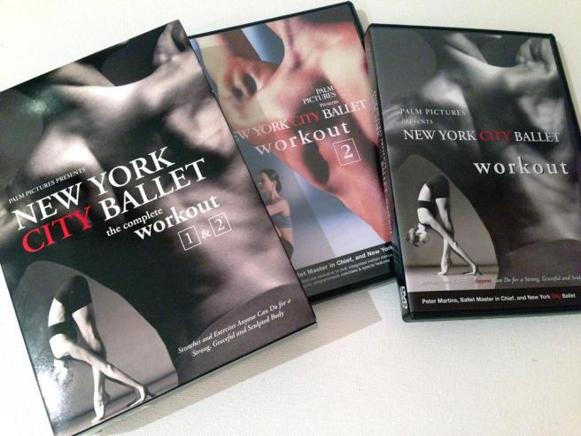New York City Ballet workout dvd