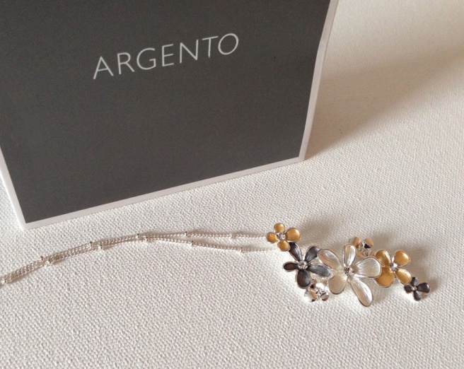 Argento August Woods necklace