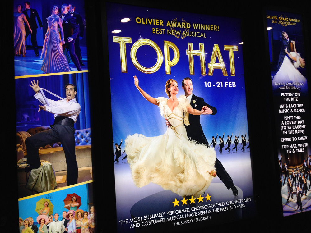 Top Hat musical