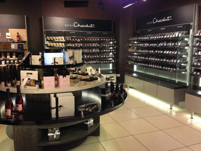 Manchester Hotel Chocolat store