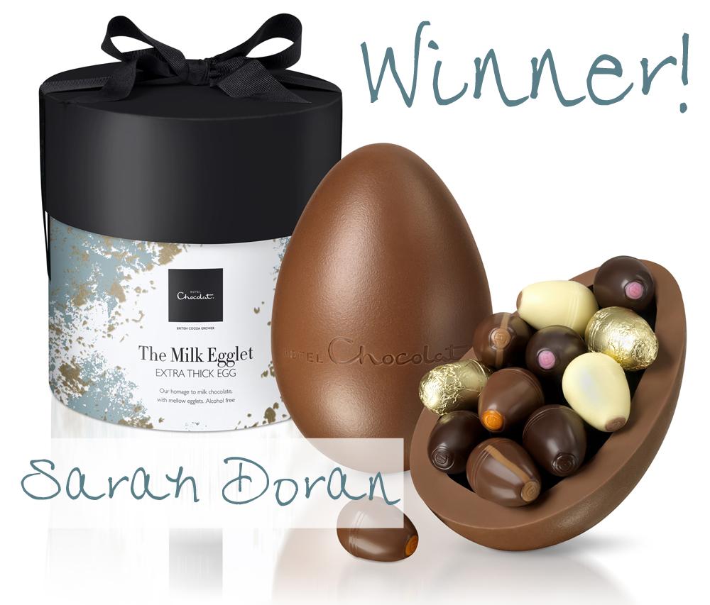 hotel chocolat  egg winner