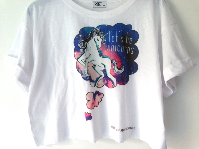 Illustrated unicorn tee
