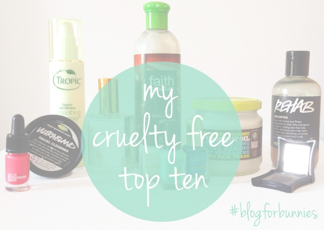#blogforbunnies cruelty free beauty