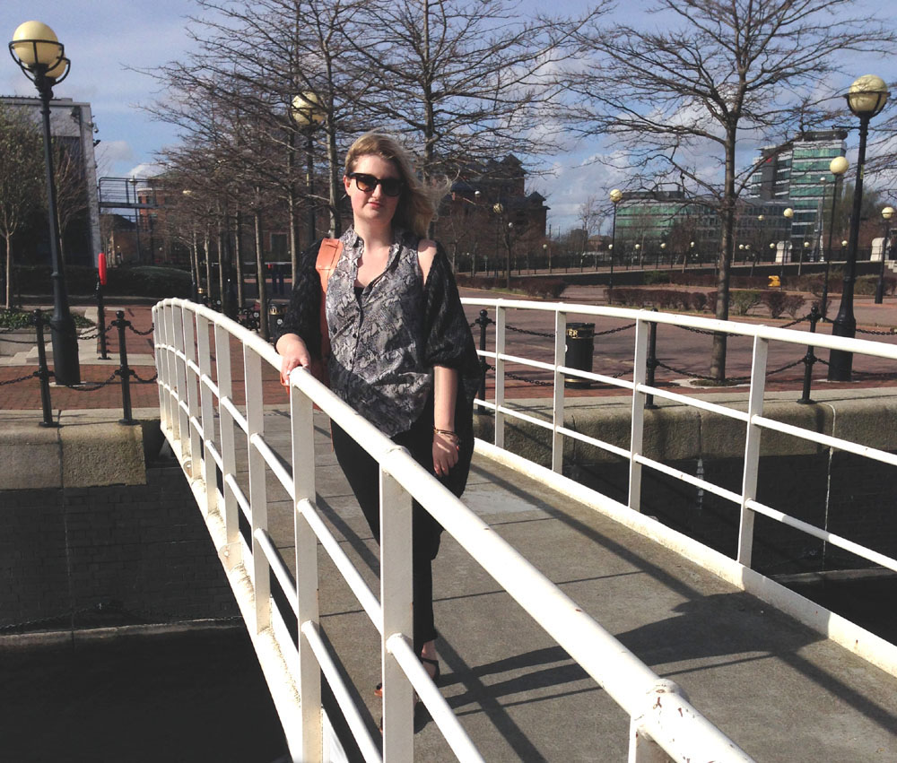 Salford quays outfit post