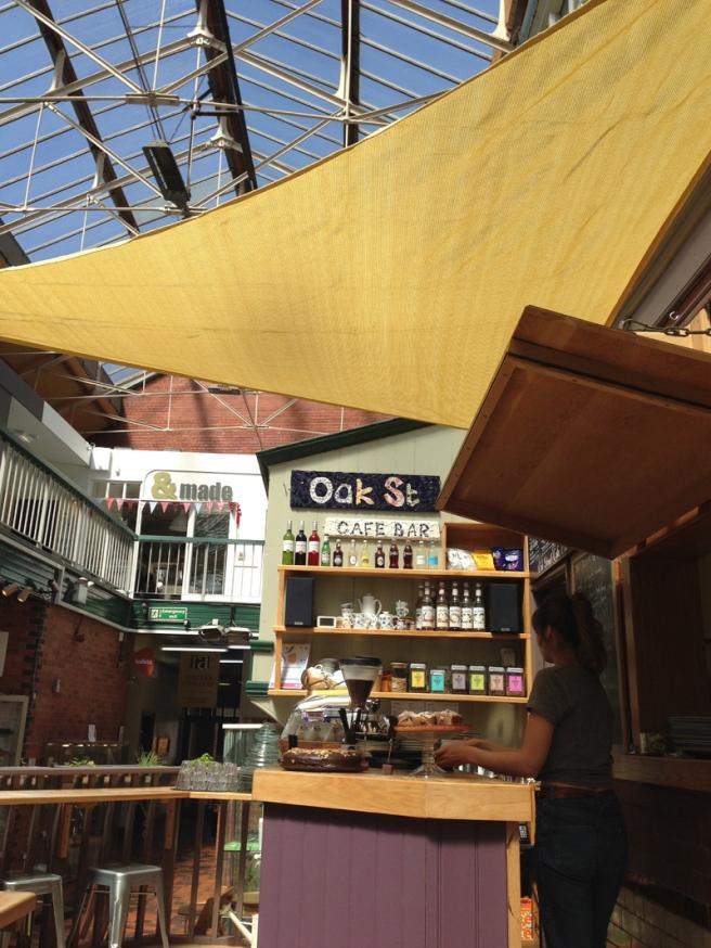 Oak Street cafe Manchester