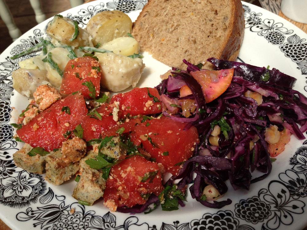 Salad from Oak Street Cafe