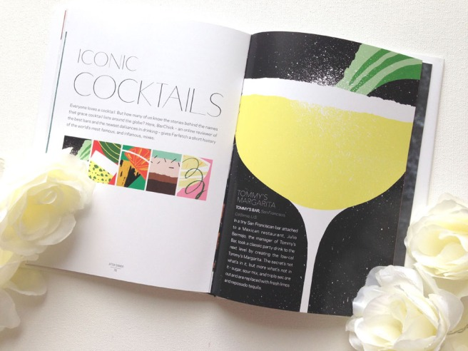 Farfatch curates food - cocktails