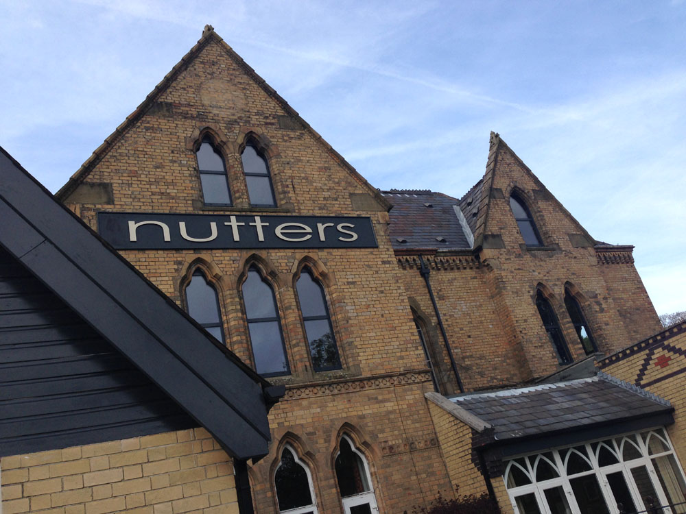 Nutters restaurant Manchester