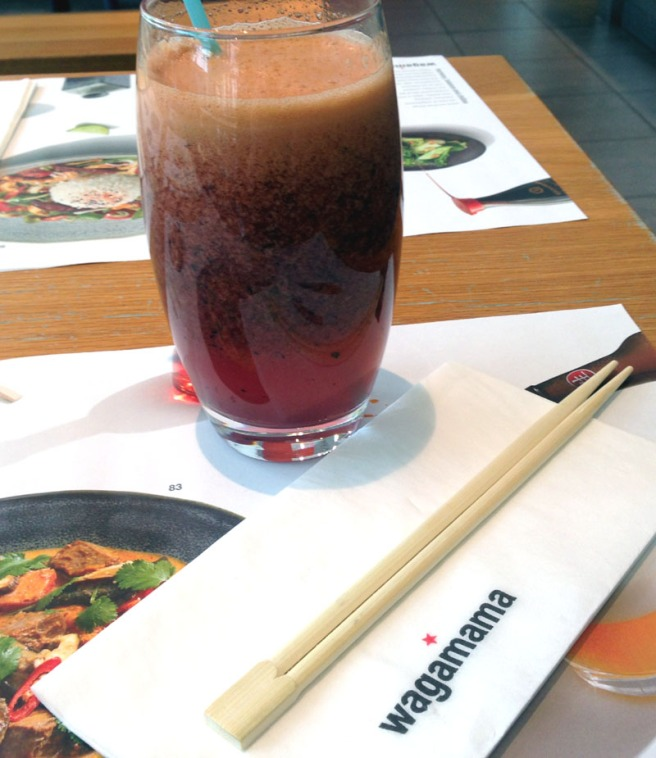 Wagamama Blueberry Spice