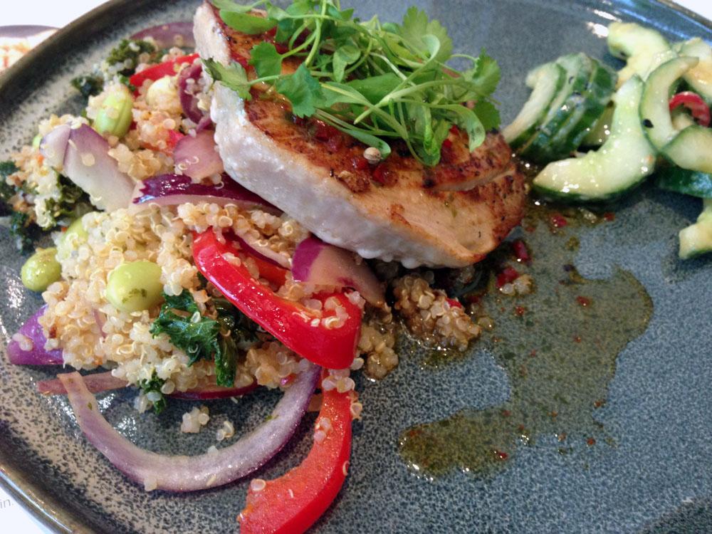 Wagamama tuna quinoa