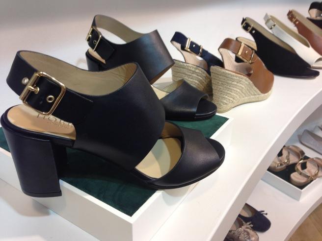 Hobbs black sandals