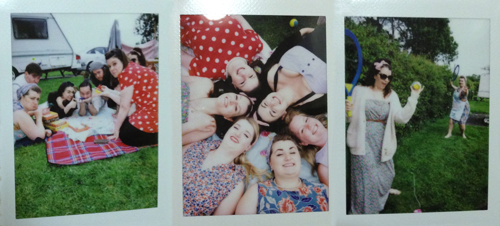 Daisy Day polaroids