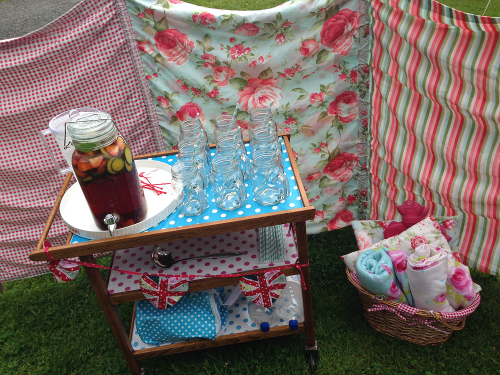 Vintage garden party and Pimms