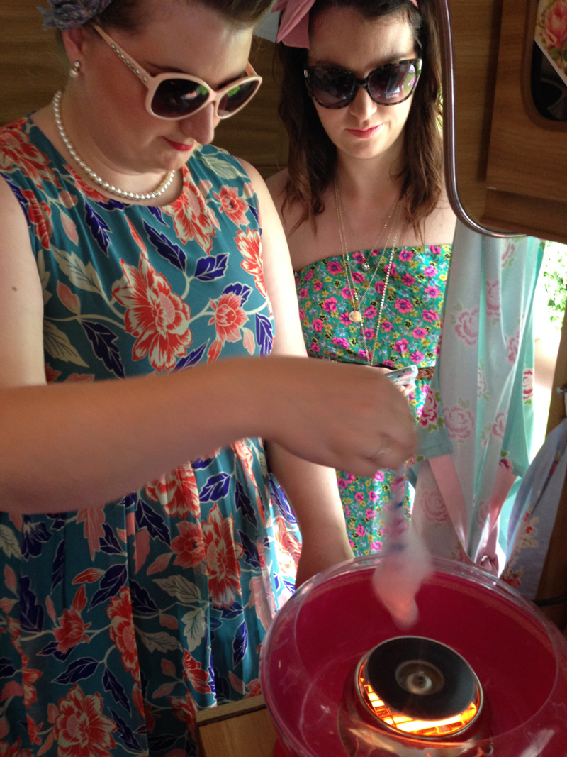 Candyfloss maker