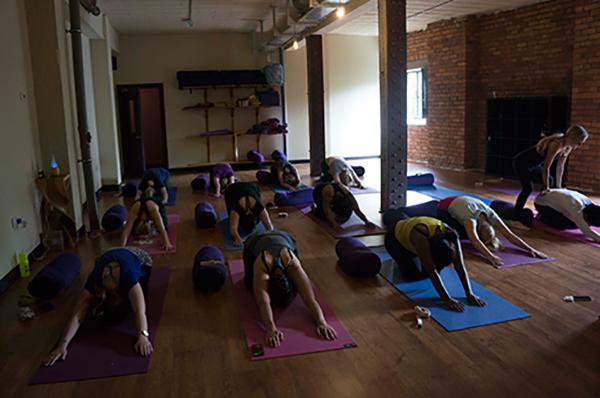 Manchester Yoga Class