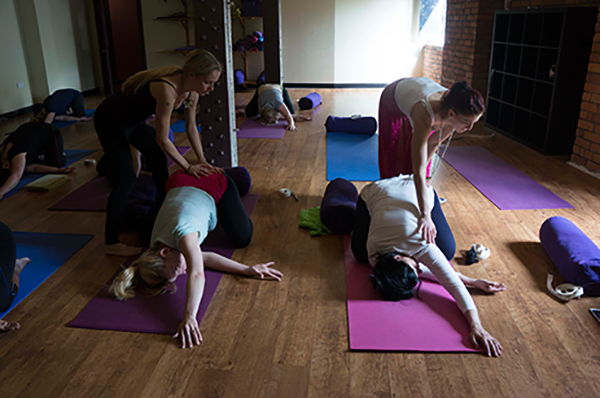 Yoga class - Manchester Yoga