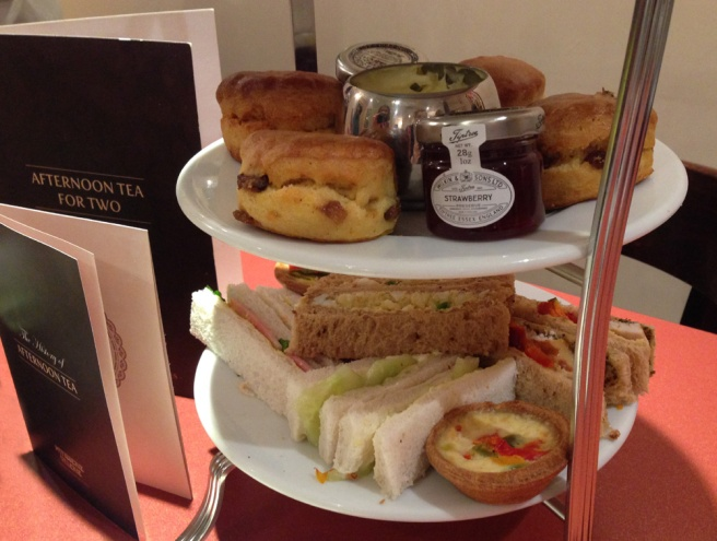 Patisserie Valerie afternoon tea