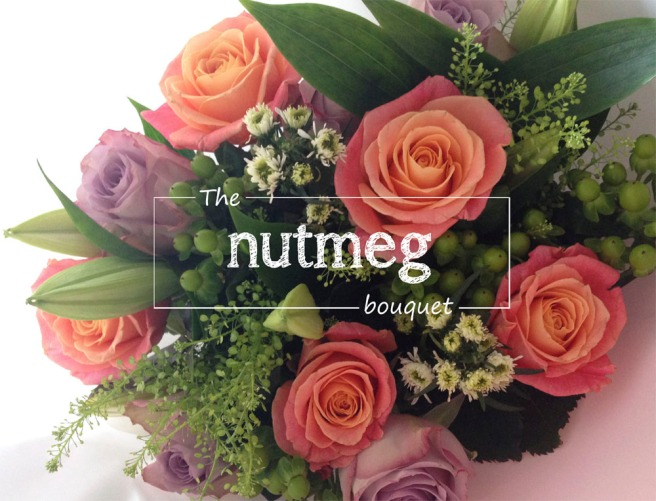 Appleyard Flowers Nutmeg bouquet