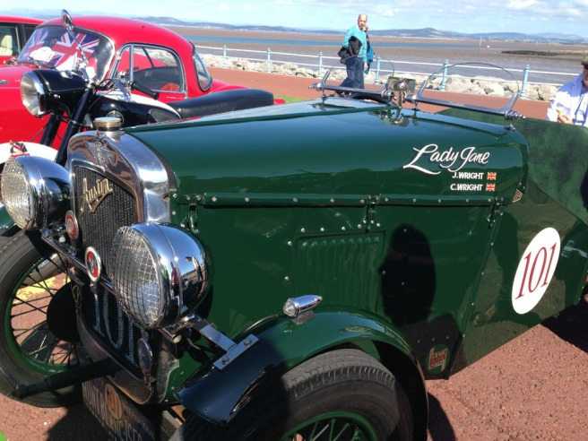 Vintage car rally Morecambe