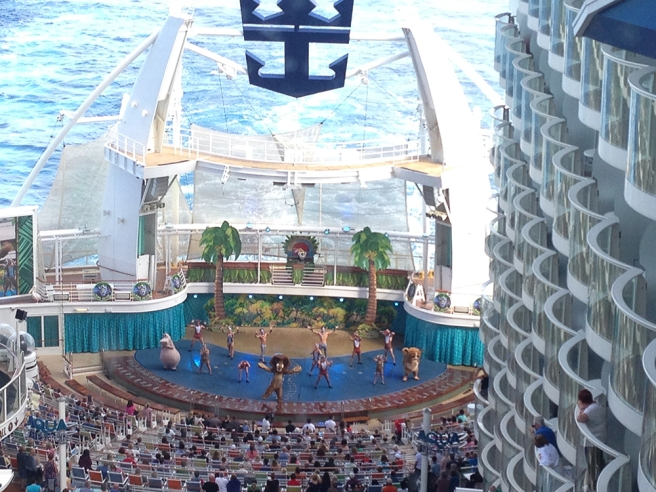 Allure of the Seas show
