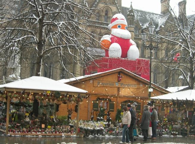 Manchester Christmas markets Albert Square