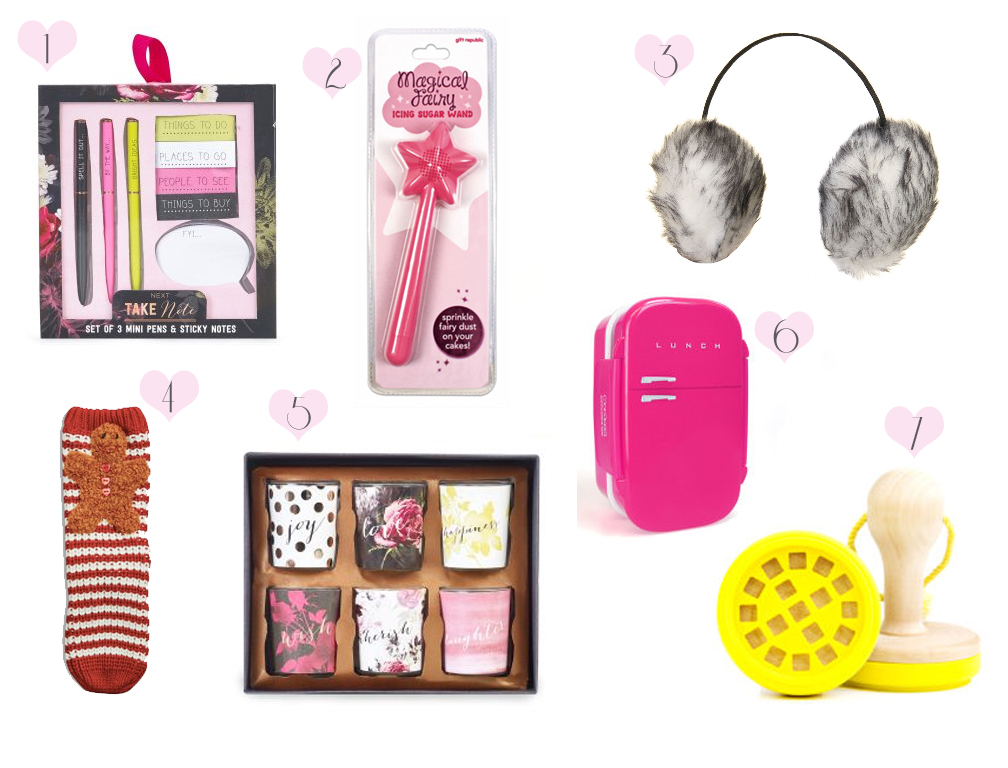Girlie secret santa gift guide