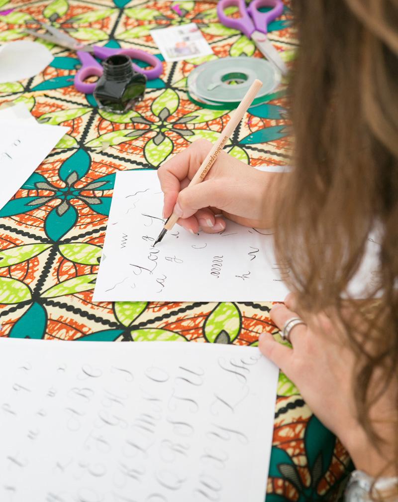 Handmade Fair calligraphy